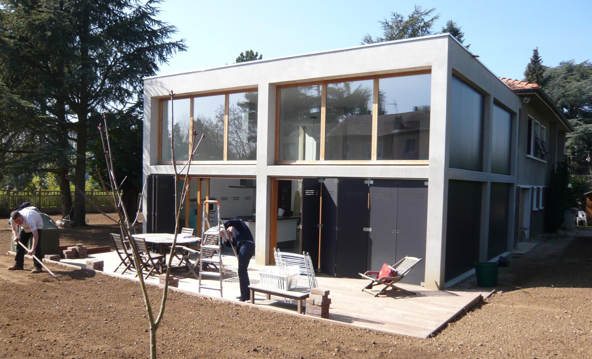 Co t maison bois au m2 des photoa des photoa de fond for Extension maison prix au m2