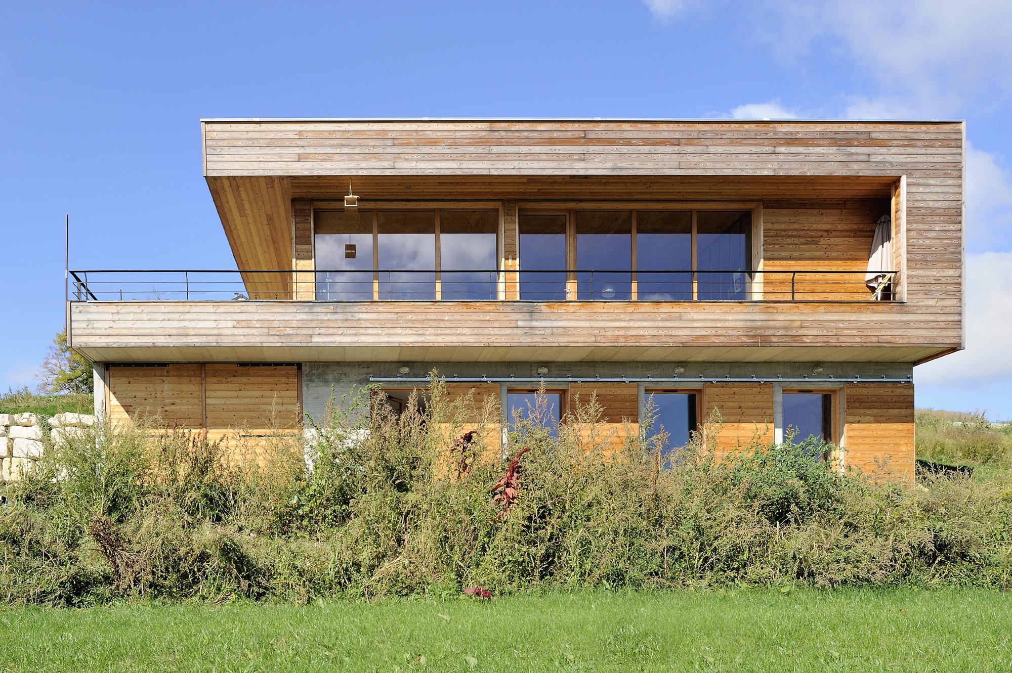 Maison bois/béton