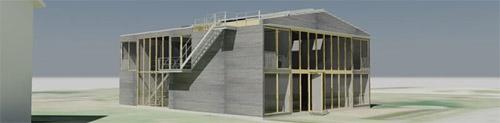 Projet d 39 habitation en container fabien perret for Projet container