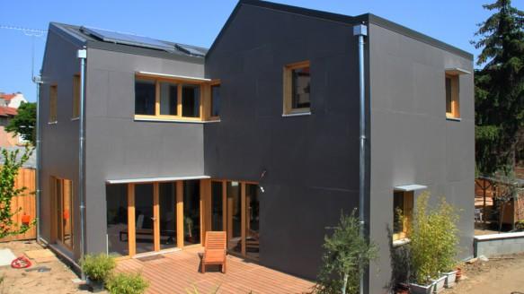 bardage panneau composite fabien perret architecte lyon. Black Bedroom Furniture Sets. Home Design Ideas