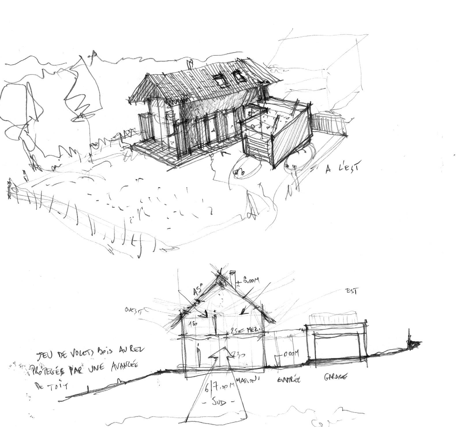croquis-architecte-maison-bois
