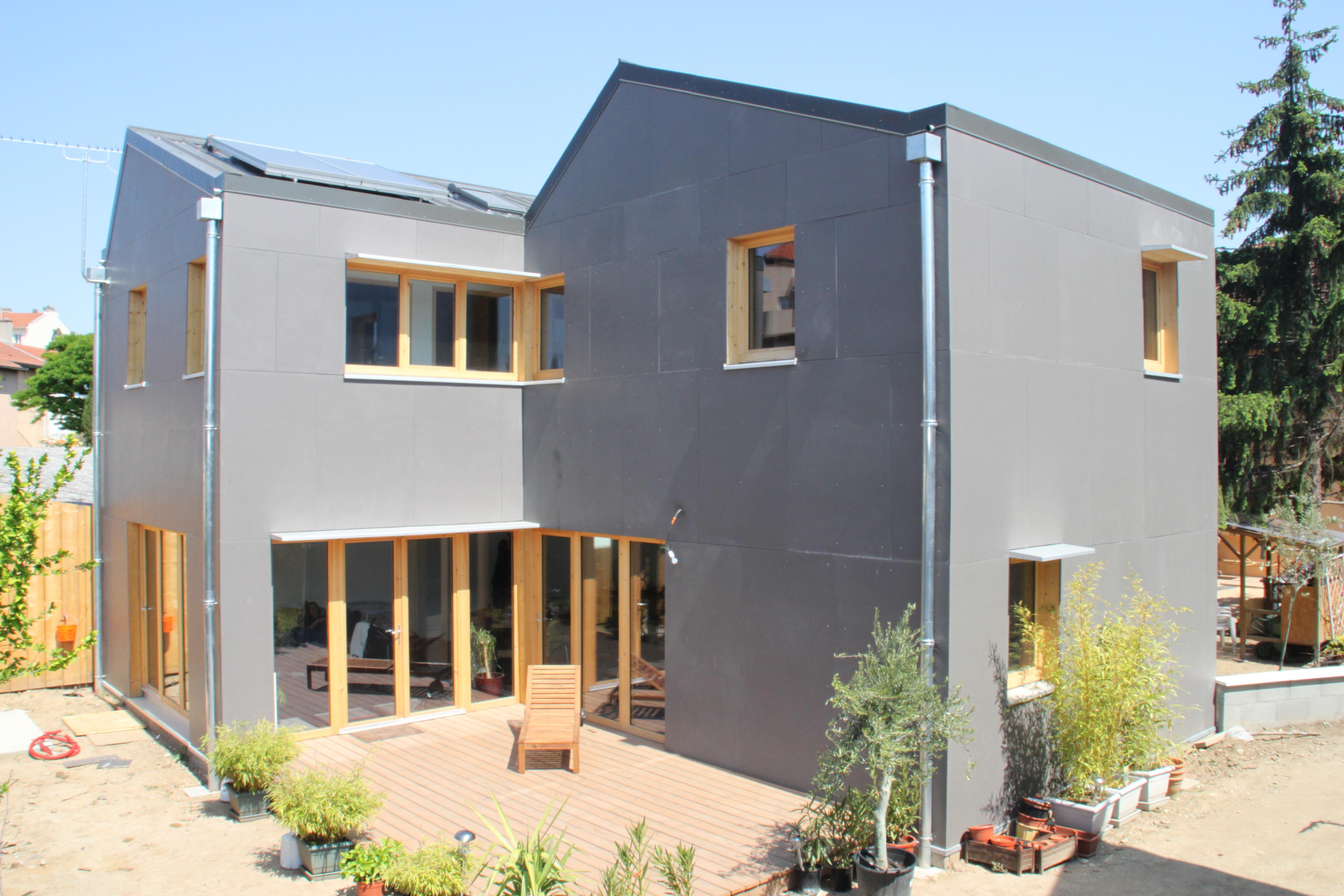 maison-ossature-bois-bardage-fibrociment