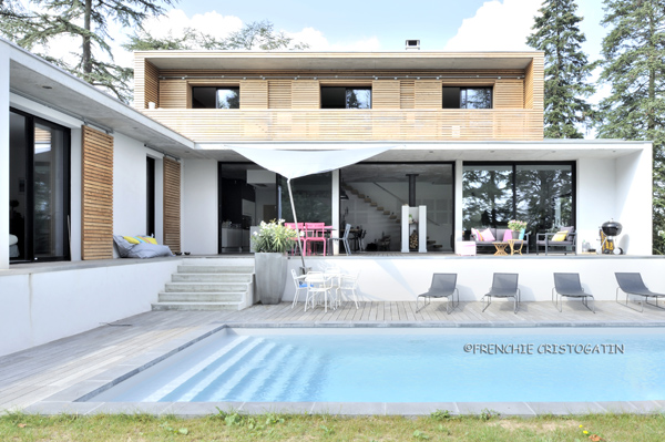 Maison Contemporaine En B Ton Charbonni Res Fabien Perret Architecte Lyon