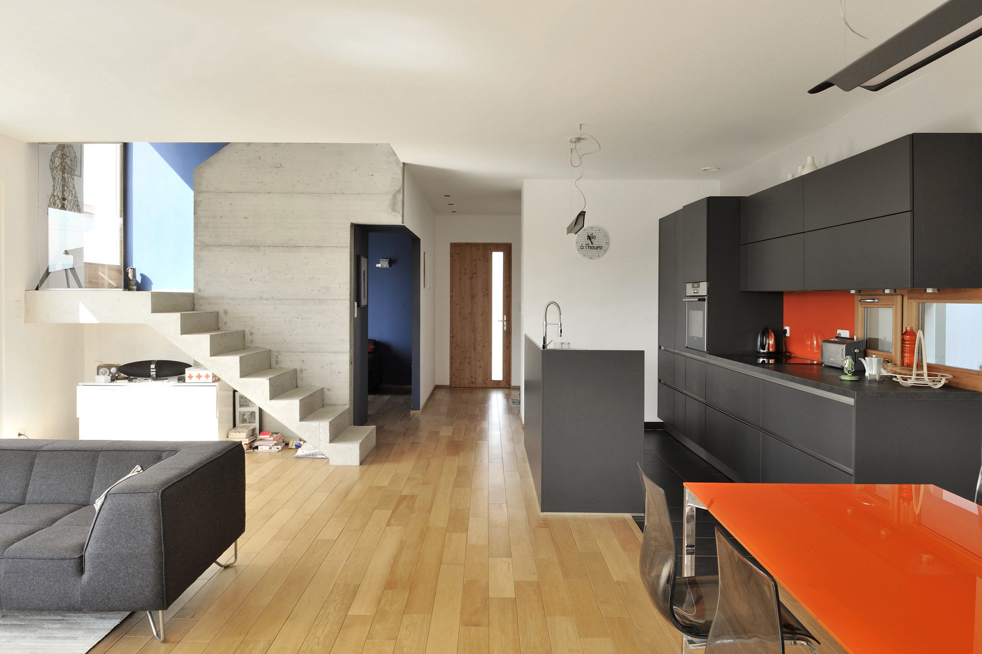 maison basse energie lucenay effinergie fabien perret architecte lyon. Black Bedroom Furniture Sets. Home Design Ideas