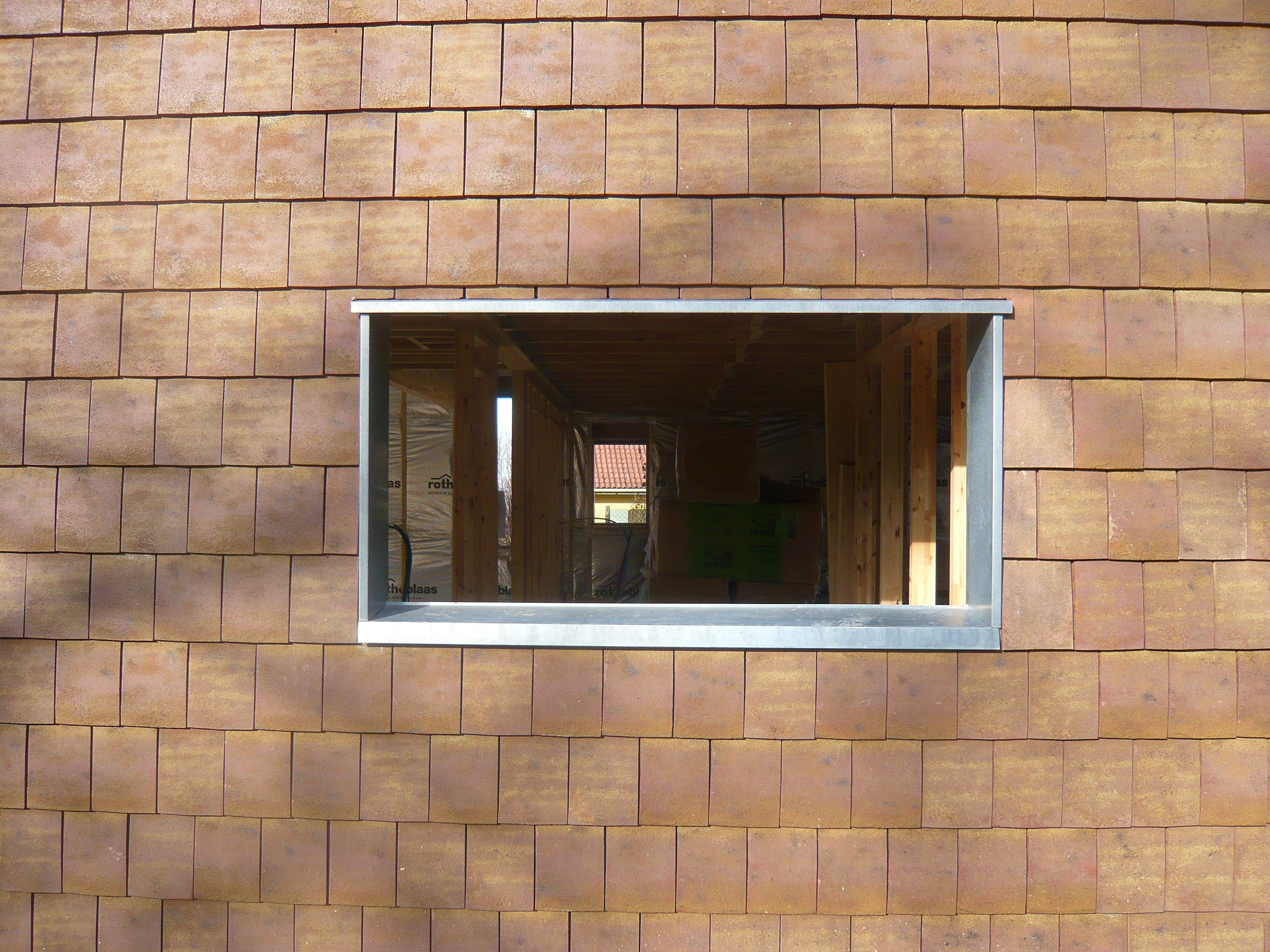 Maison bois classic design fabien perret architecte lyon - Fenetre teintee maison ...