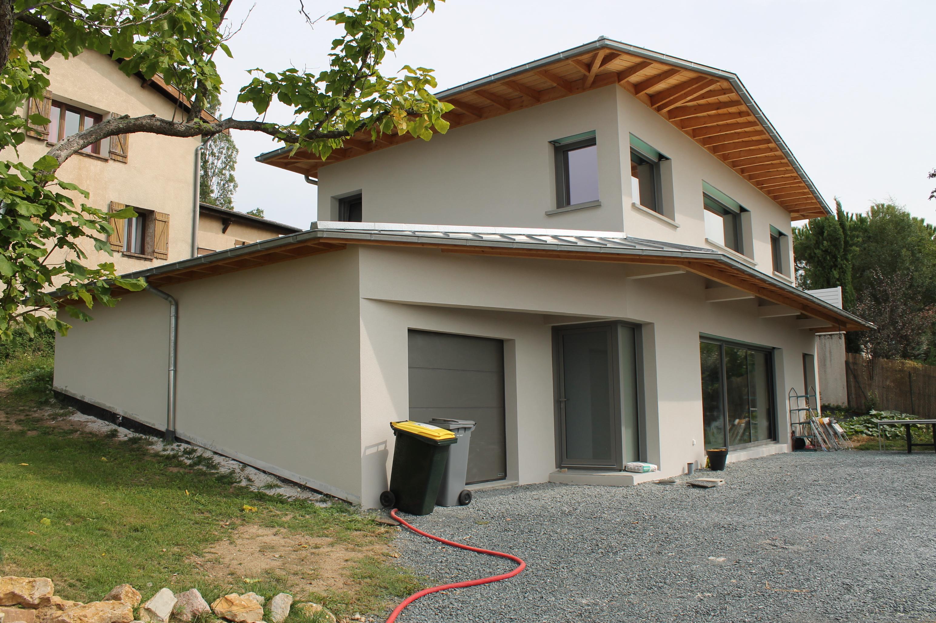 Maison béton/zinc