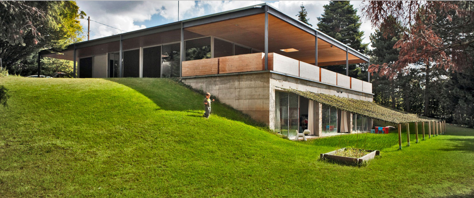 Extension beton
