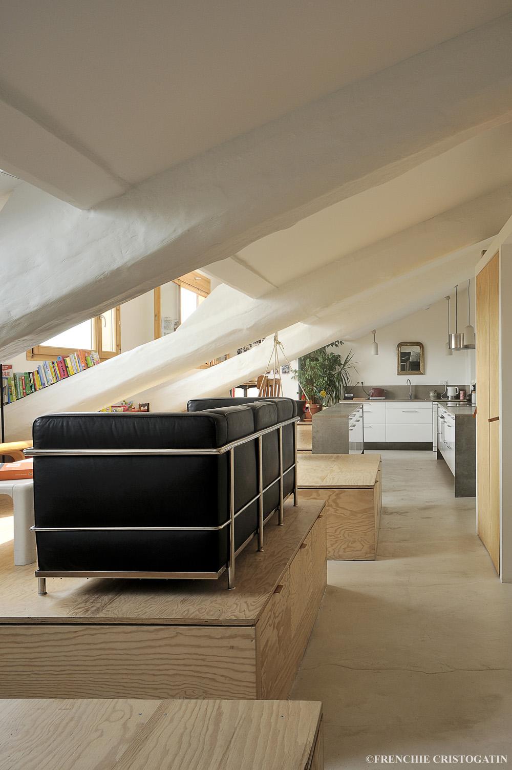 Aménagement appartement lyon 5eme | Fabien Perret Architecte ...